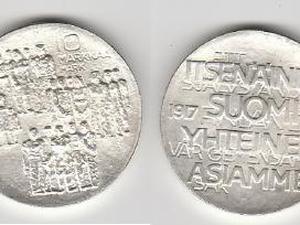 Suomija 10mark. ir 100mark. nuo 1970 iki 2001m. - nuotraukos Nr. 3