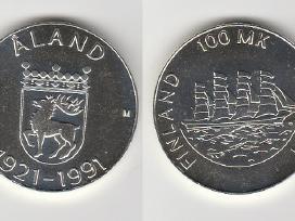 Suomija 10mark. ir 100mark. nuo 1970 iki 2001m. - nuotraukos Nr. 4