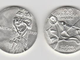 Suomija 10mark. ir 100mark. nuo 1970 iki 2001m. - nuotraukos Nr. 5