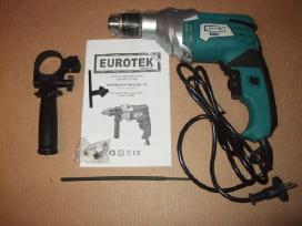 Elektriniai Gręžtuvai (Drelės) Eurotek–super kaina