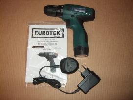 Akumuliatoriniai Suktukai Eurotek - Super kaina