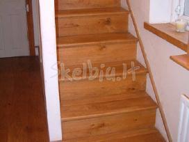 Mediniu laiptu atnaujinimas - nuotraukos Nr. 2