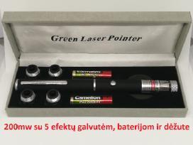 Žalias lazeris! Puiki Kalėdinė dovana vaikams! - nuotraukos Nr. 2
