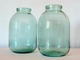 Stiklainiai 3litru, ir maži stiklainukai 0,2-0,3l - nuotraukos Nr. 2