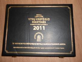 2011 Lietuvos vyrų krepšinio rinktinės medalių