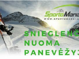 Snieglenčių, kalnų slidžių nuoma Panevėžyje
