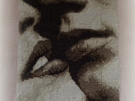Kryželiu siuvinėti paveikslai