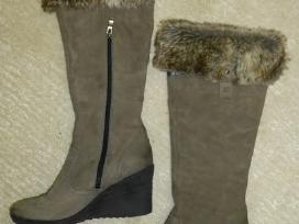 Ilgaauliai natūralios odos Caprice batai 39 d.