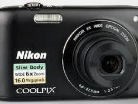 Parduodamas mazai naudotas fotoapatatas Nikon 3200