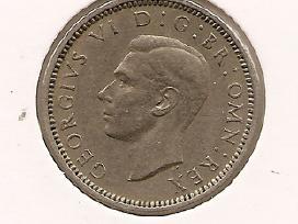 Anglija 6 pence 1952 #875