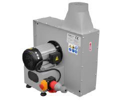 Nauji 1,5 kw pramoniniai ventiliatoriai