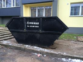 Statybinio konteinerio nuoma Vilniuje! 8 687 32923