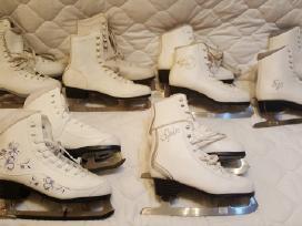 Daug dailiojo čiuožimo, riedučių tipo pačiūžų