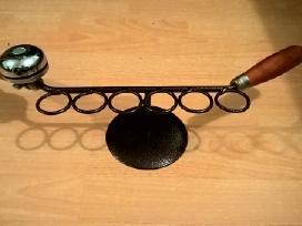 Stkliukams suvenyinė dviračio rankena su skambučiu