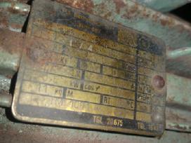 Vokiškas el.variklis 0,5kw 1380aps - nuotraukos Nr. 3