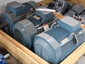 Elektros varikliai,reduktoriai,škyvai,ventiliatori