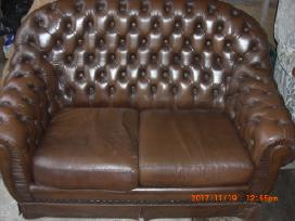 Chesterfield odinis fotelis