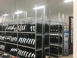 Metaliniai stelažai lentynos Rosss sandėlio garažo - nuotraukos Nr. 2