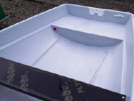 Didelė stabili plastikinė valtis Šamas 420 - nuotraukos Nr. 6