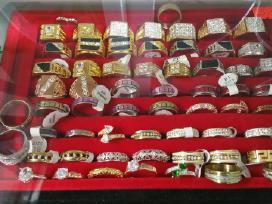 Siūlau daug visokių žiedų kainos nuo 5 iki 25 eurų - nuotraukos Nr. 2