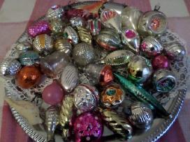 Kalėdinės eglutės žaisliukai papuošimai