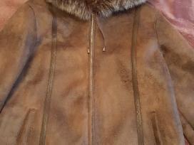 Natūralaus kailio paltas/dublionkė