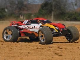 Mašina Traxxas Rustler Xl5 Rtr. Orlaivis. Lt