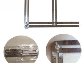 Nerūdijančio plieno šablonas kampų supjovimui - nuotraukos Nr. 3