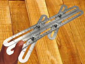 Nerūdijančio plieno šablonas kampų supjovimui - nuotraukos Nr. 4
