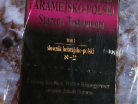 Hebrajų-lenkų ir aramėjų-lenkų kalbų žodynas