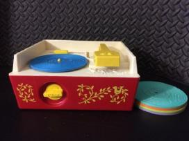 1971 Fisher Price patefonas