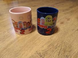 Puponautu puodeliai.