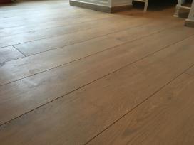 Plačios ąžuolo masyvo grindys - grindlentės - nuotraukos Nr. 2