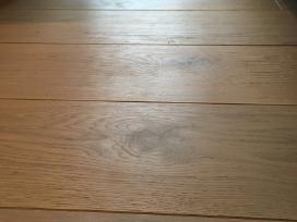 Plačios ąžuolo masyvo grindys - grindlentės - nuotraukos Nr. 3