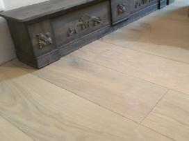 Plačios ąžuolo masyvo grindys - grindlentės - nuotraukos Nr. 4