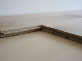 Masyvo grindys - ąžuolo