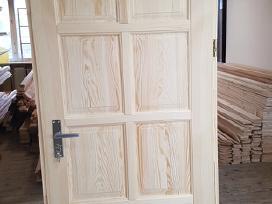 Medžio masyvo durys nuo 175eur