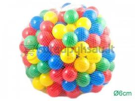 Plastikiniai kamuoliukai 200vnt i baseina