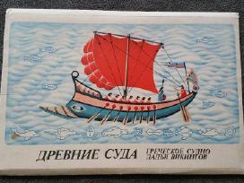 Popieriniai senovinių laivų modeliai