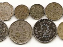 Ceilono ir sri Lankos monetos