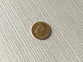 Auksinė Moneta 5 Rubliai