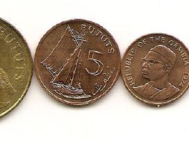 Gambijos monetu rinkinukas