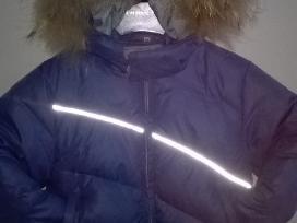 Huppa pūkinė žieminė striukė 104 d.