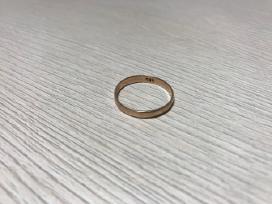 Auksinis žiedas, praba 585