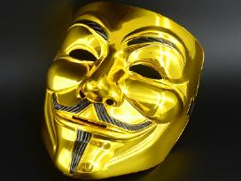 Pjuklas Saw Anonymous Vendeta kaukė Mask Kaukes