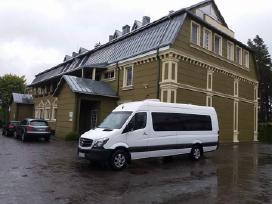 Mikroautobusų nuoma - Mercedes Benz 9 - 21 vietų!