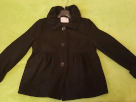 Juodas vilnonis žieminis paltas
