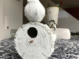 Inkilas mažiems paukščiukams dekoratyvus