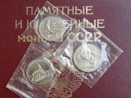 Jubiliejinių monetu visas rinkinukas 64 vnt.