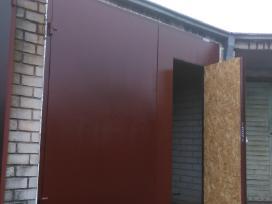 Metaliniai garazo vartai,durys!geriausia kaina!